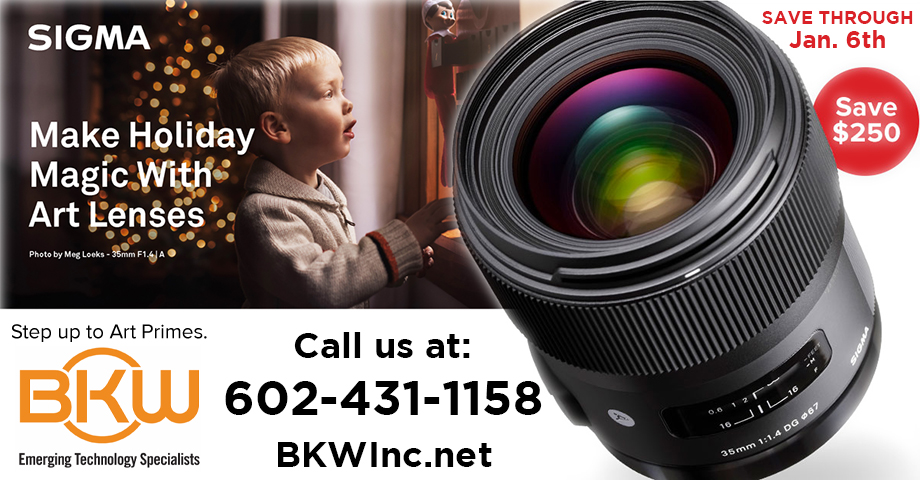 Sigma Holiday Specials at BKW Inc.